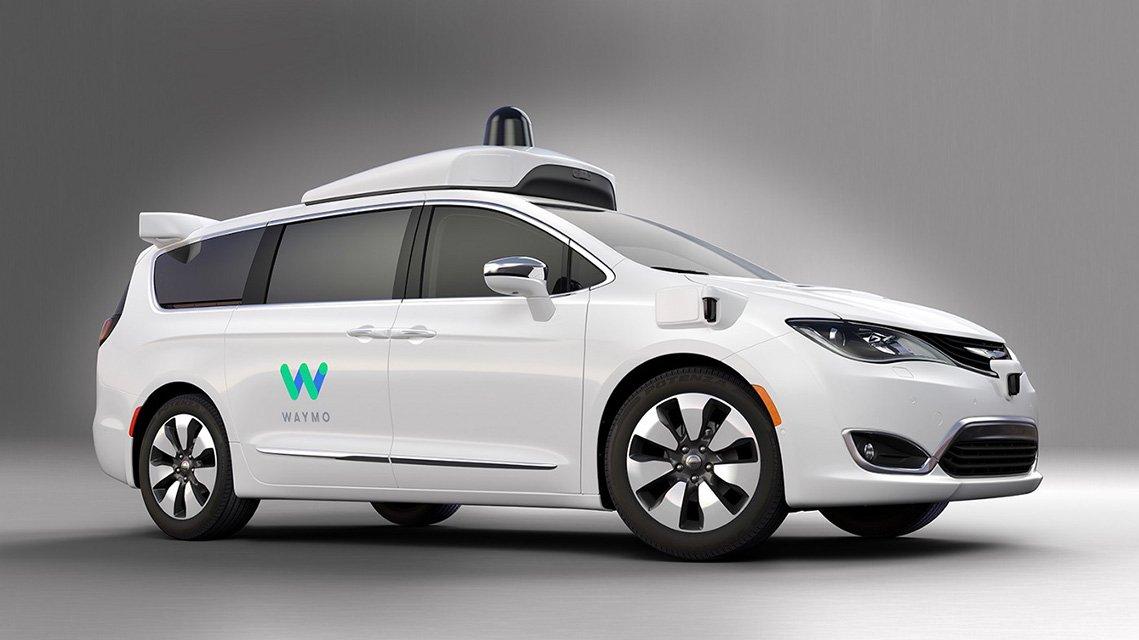 Waymo Minivan Google