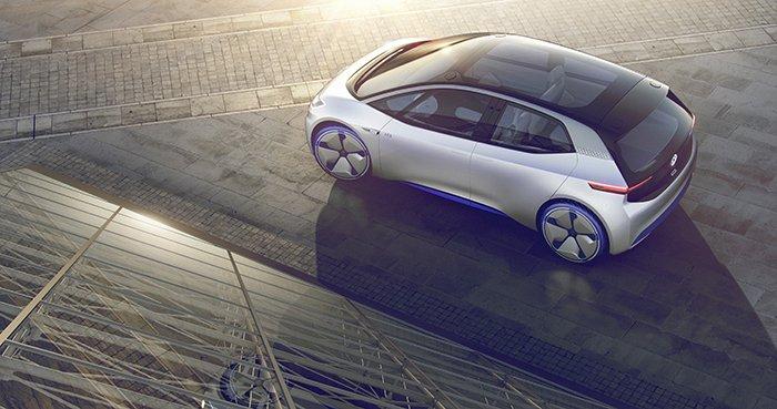 Volkswagen I.D. electric ev