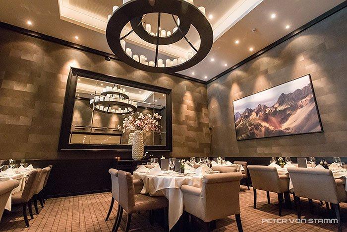 Monta Grill Restaurant im Hotel Grischa in Davos