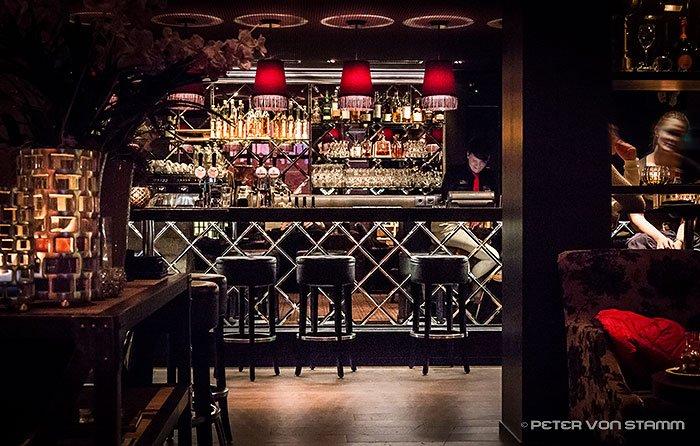 Pulsa Bar und Lounge im Grischa Hotel Davos