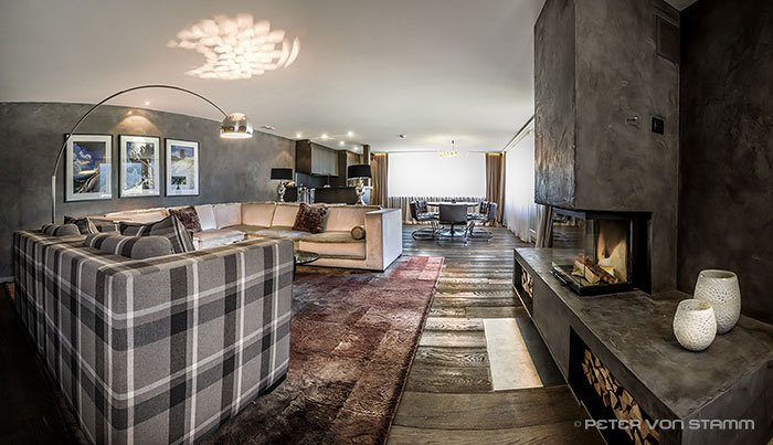 Suite im Hotel Grischa in Davos