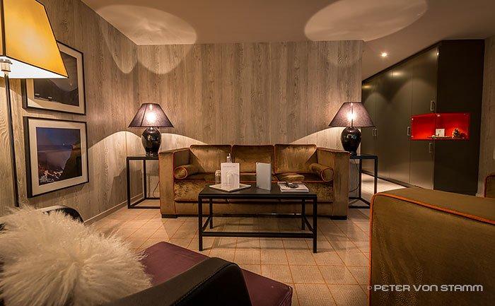 Zimmer im Hotel Grischa in Davos
