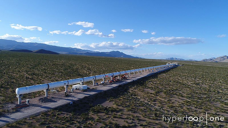 Hyperloop One installation