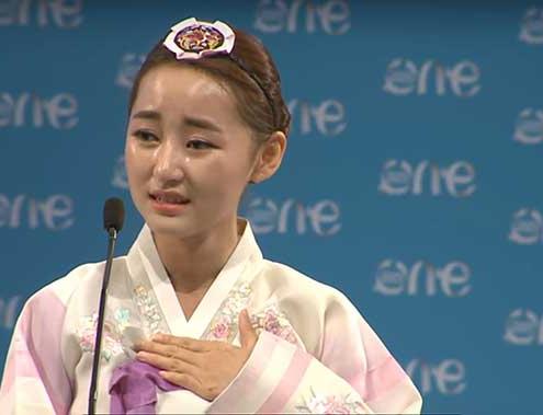 Park Yeon-mi from North Korea
