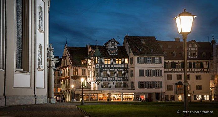 Nachts in St. Gallen