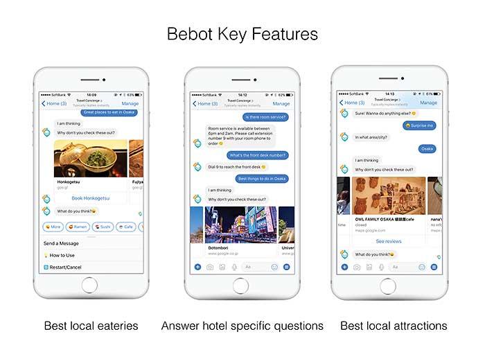 Japanese Chatbot Bebob