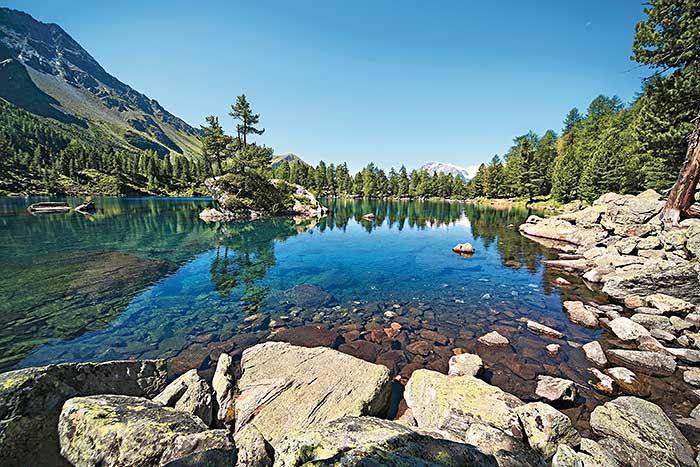 Lago di Saoseo in Graubünden