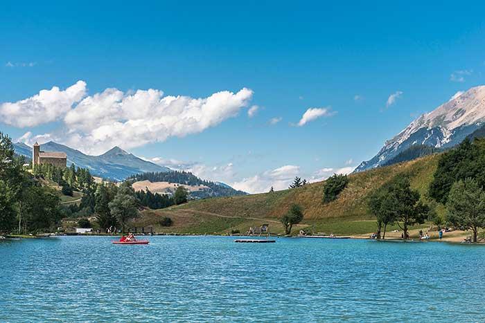 Lai Barnagn in Graubünden