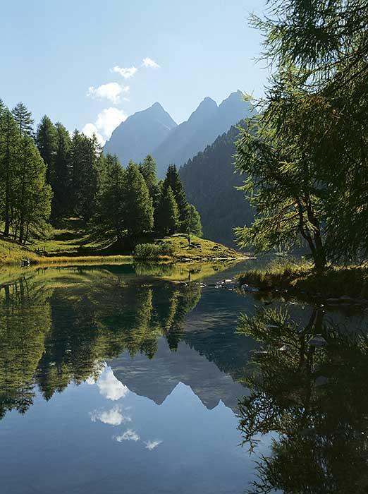 Der Palpuognasee in Graubünden