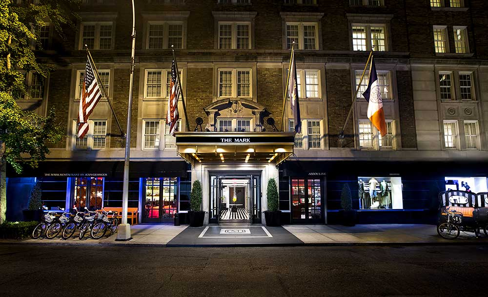 The Mark Hotel New York Entrance