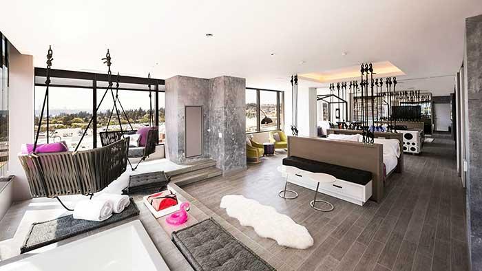 w hotels debuts in bellevue wa peter von stamm. Black Bedroom Furniture Sets. Home Design Ideas