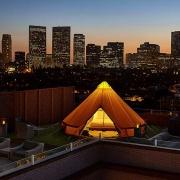 Four Seasons Beverly Wilshire Urban Glamping