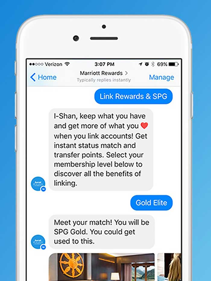 Marriott Chatbots