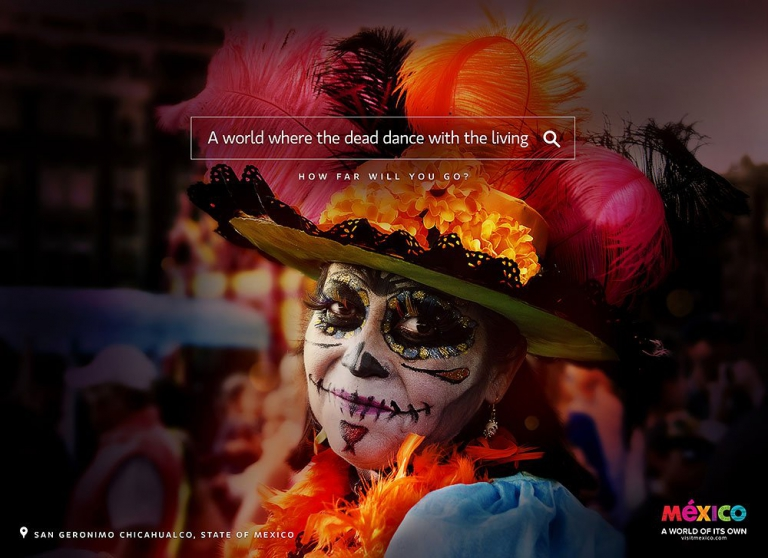 Mexico Tourism Board campaign