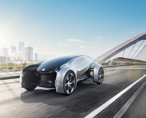 Jaguar Future-Type concept car