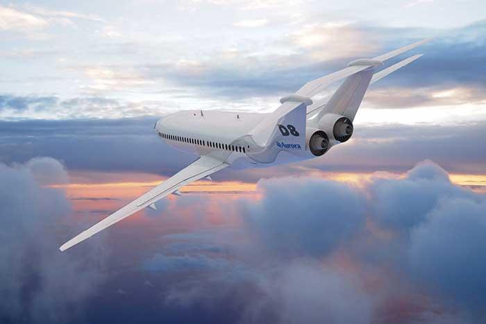Aurora D8 X-Plane XD8 aircraft