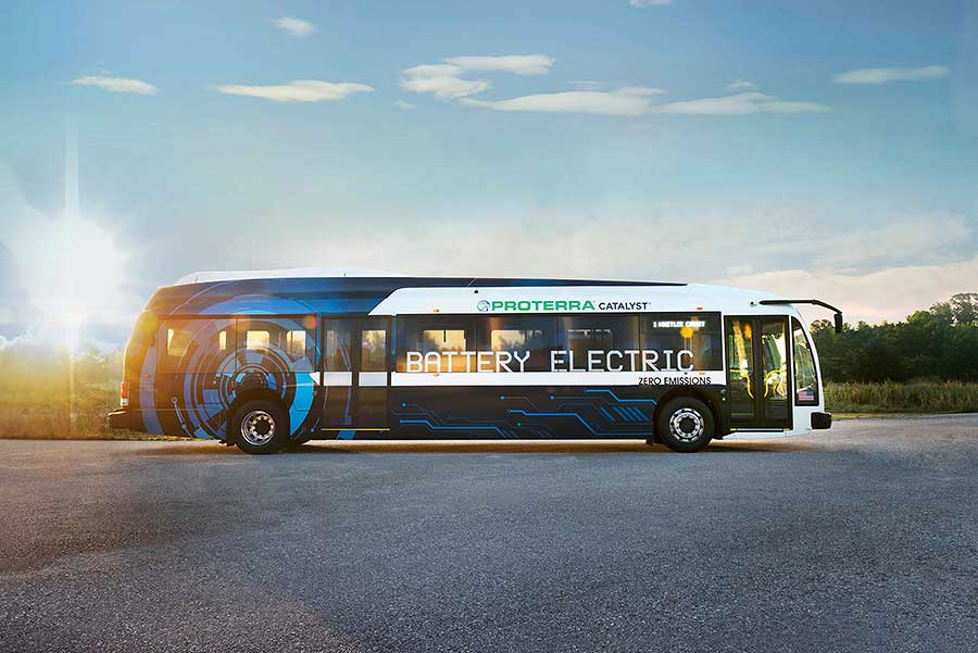 Proterra Catalyst E2 Max Bus