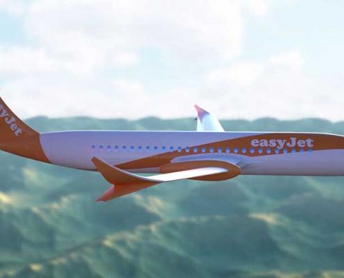 easyJet electric plane
