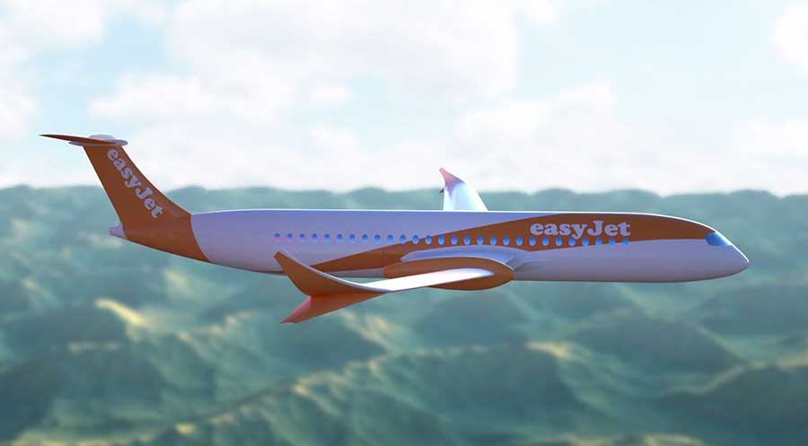 easyJet electric plane