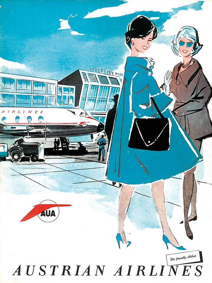 Austrian Airlines anniversary