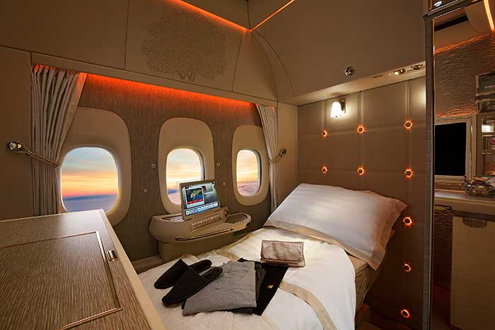 Emirates First Class Private Suites