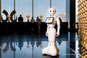 "Humanoid Robot ""Pepper"" at Mandarin Oriental, Las Vegas"