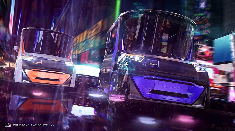 REDS EV fully electric city car