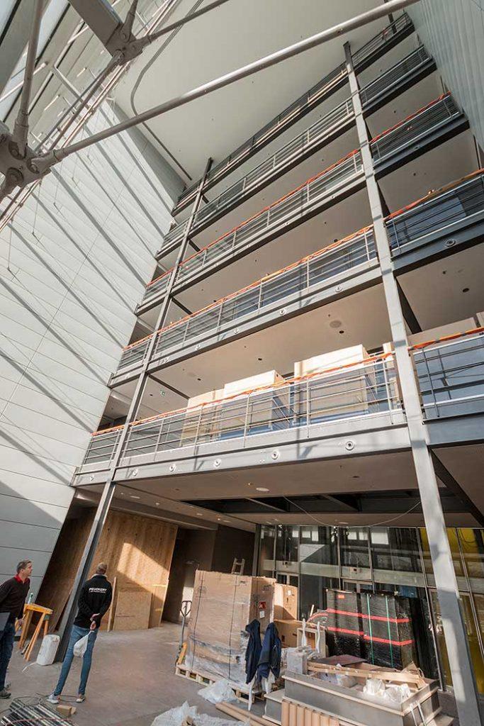 Baustellenbesuch das neue steigenberger hotel m nchen for Schickes hotel
