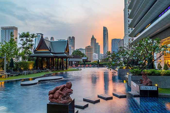The Athenee Hotel in Bangkok