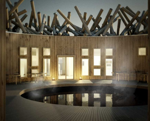 The ARCTIC BATH Hotel in Swedisch Lapland