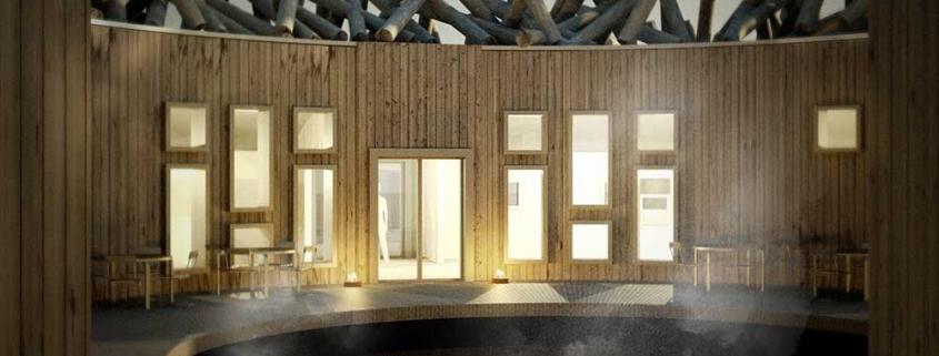 The ARCTIC BATH Hotel in Swedisch Lapland