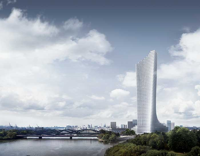 Elbtower Hamburg Hafencity by David Chipperfield Architects