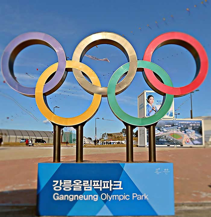 PyeongChang 2018 Winter Olympics in South Korea