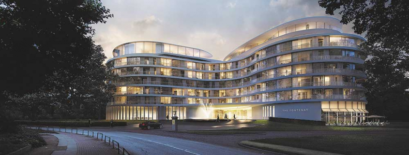 The Fontenay Hotel in Hamburg