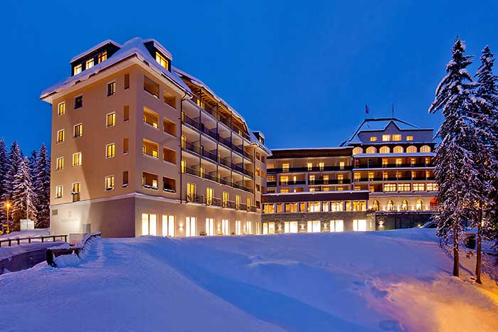 Waldhotel National in Arosa