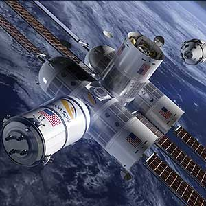 Houston, we have a... Space Hotel