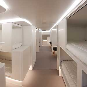 Sleep and fly: Airbus plans new lower-deck passenger sleeping facilities