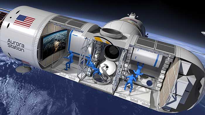 Aurora Station Space Hotel