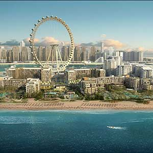 Bluewaters Island Dubai: Plans for Two Caesars Hotels