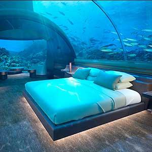 Conrad Maldives stunning Undersea Residence