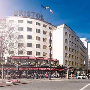 Gold-richtig: Das Hotel Bristol Berlin