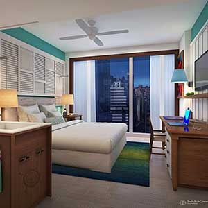 New Margaritaville Resort Hotel in Time Square, New York City