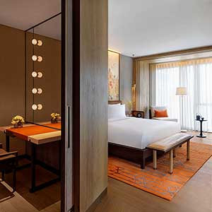 Opening of the Grand Hyatt Xi'an Hotel