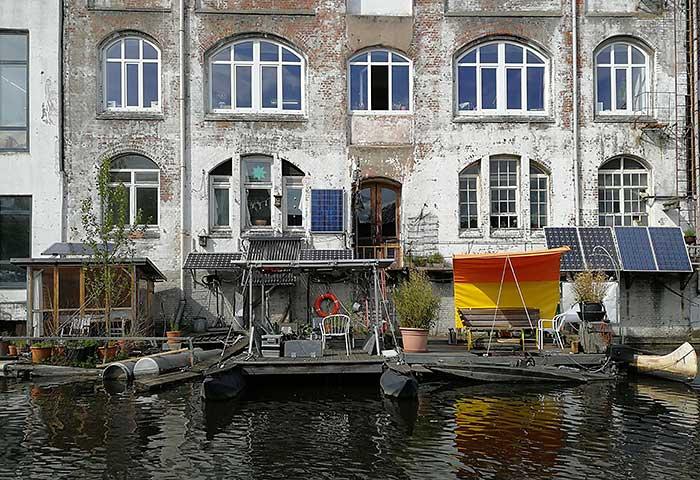 Kanal-Idylle Bille Tour mit der Hafenschnackerin in Hamburg