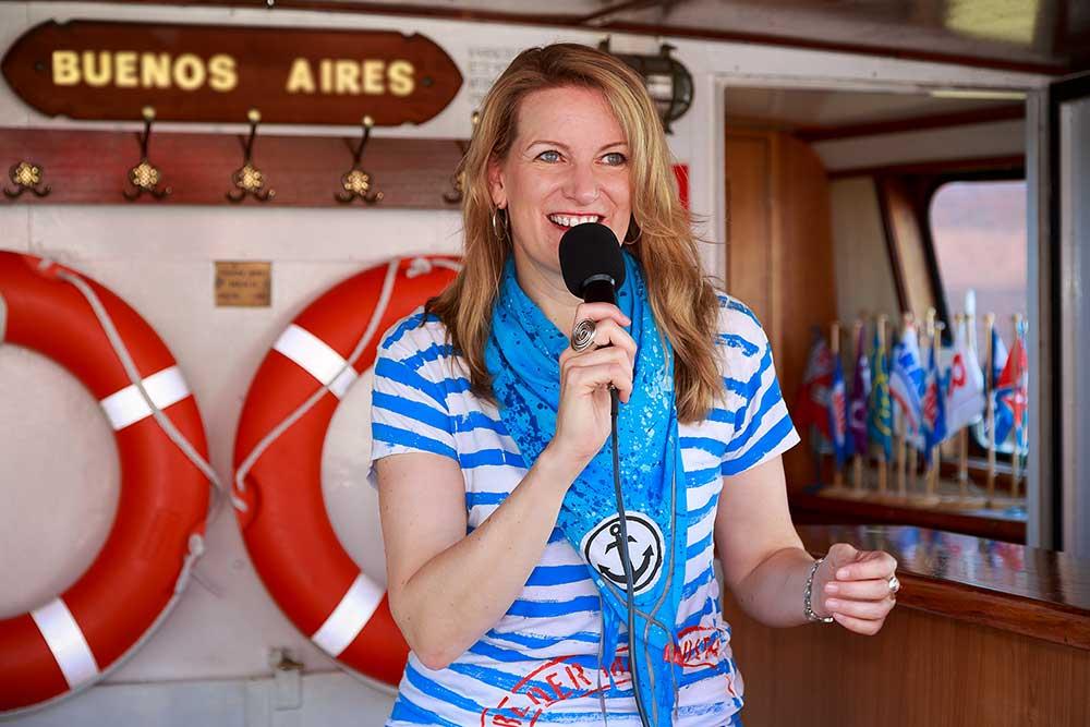 Hafenschnackerin Maike Brunk