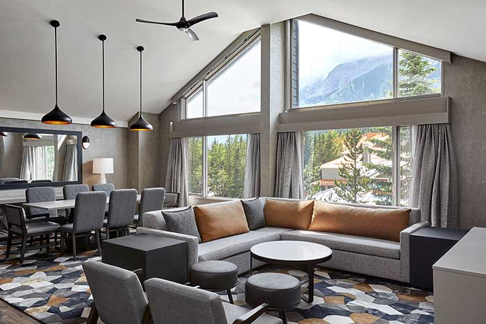 The Kananaskis Mountain Lodge in Alberta, Canada