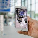 Der VW Sedric wird mit einer AR-App sichtbar