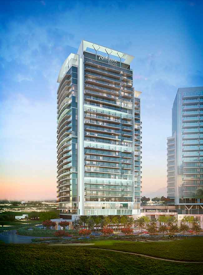 Radisson Hotel in Dubai DAMAC Hills