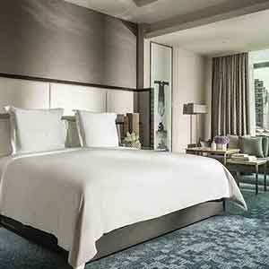 Die Serviced Luxusappartements im Four Seasons Hotel in Kuala Lumpur