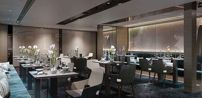 Ritz Carlton Yacht Aqua Restaurant